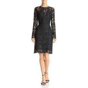 NEW Sam Edelman Womens Lace Long Sleeve Dress SZ 6